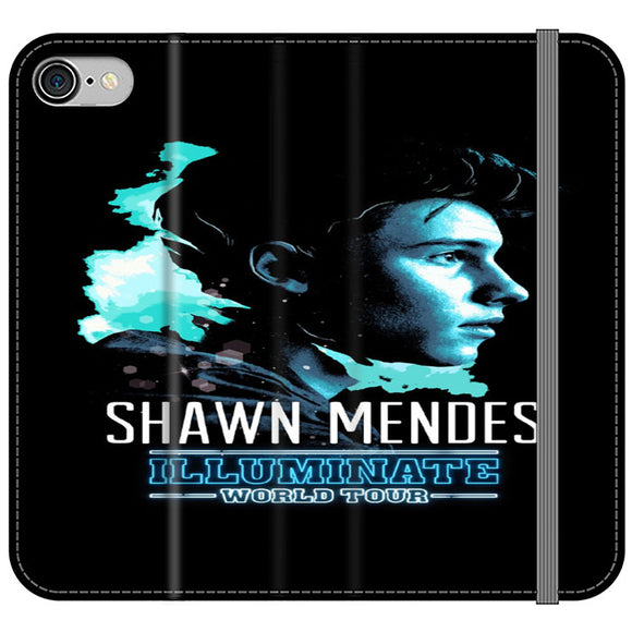 Shawn Mendes Illuminate Tour Poster iPhone 8 Flip Case | Frostedcase