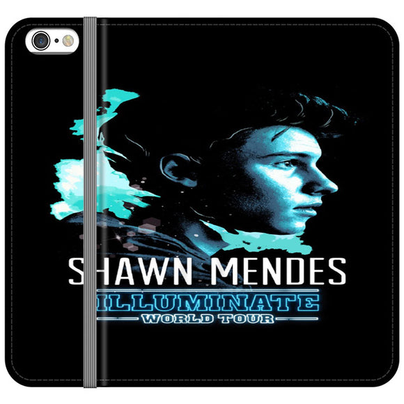 Shawn Mendes Illuminate Tour Poster iPhone 6 Plus|6S Plus Flip Case | Frostedcase