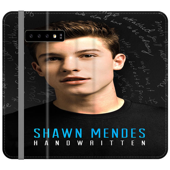 Shawn Mendes St Samsung Galaxy S10 Flip Case | Frostedcase