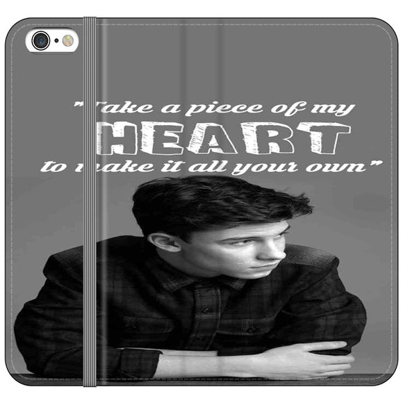 Shawn Mendes Take A Piece Of My Heart iPhone 6 Plus|6S Plus Flip Case | Frostedcase