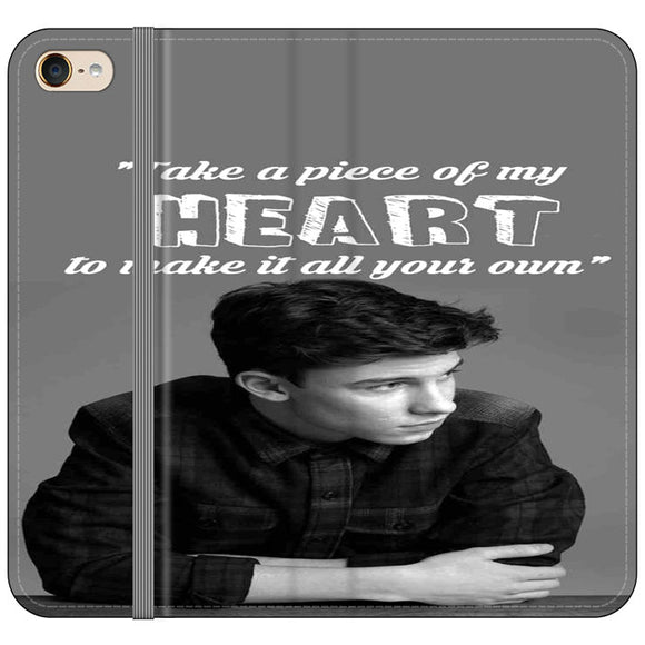 Shawn Mendes Take A Piece Of My Heart iPod 5 Flip Case | Frostedcase