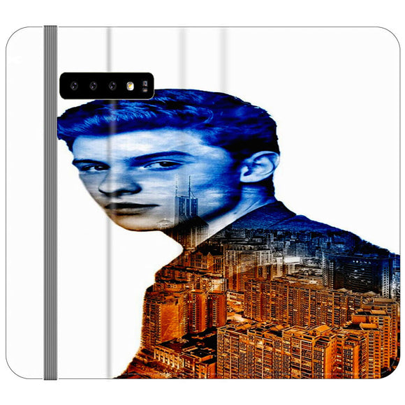 Shawn Mendes Samsung Galaxy S10 Flip Case | Frostedcase
