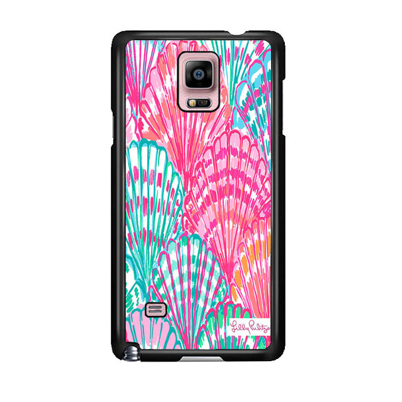 Shell Pattern Lilly Pulitzer Samsung Galaxy Note 4 Case | Frostedcase