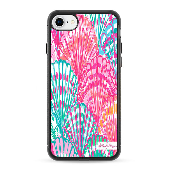 Shell Pattern Lilly Pulitzer iPhone 7 Case | Frostedcase
