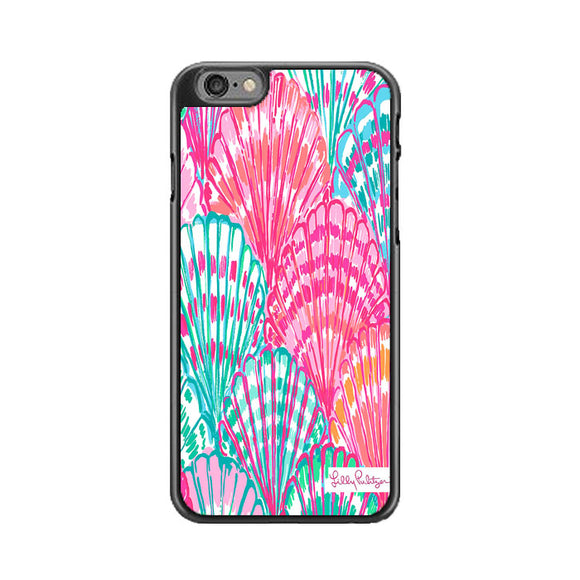 Shell Pattern Lilly Pulitzer iPhone 6 Plus|6S Plus Case | Frostedcase