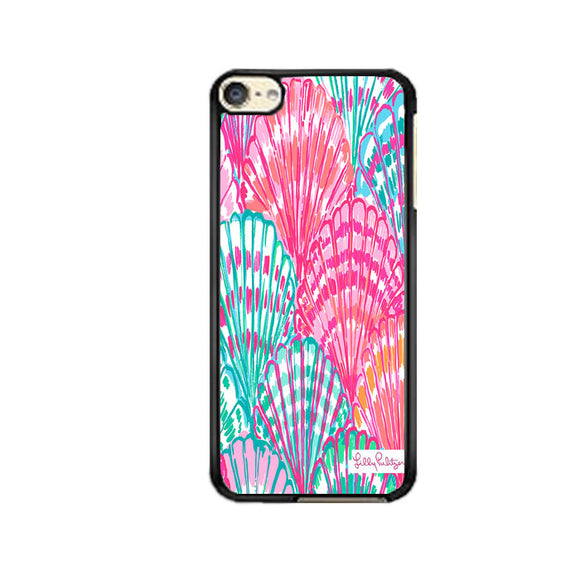 Shell Pattern Lilly Pulitzer iPod 6 Case | Frostedcase