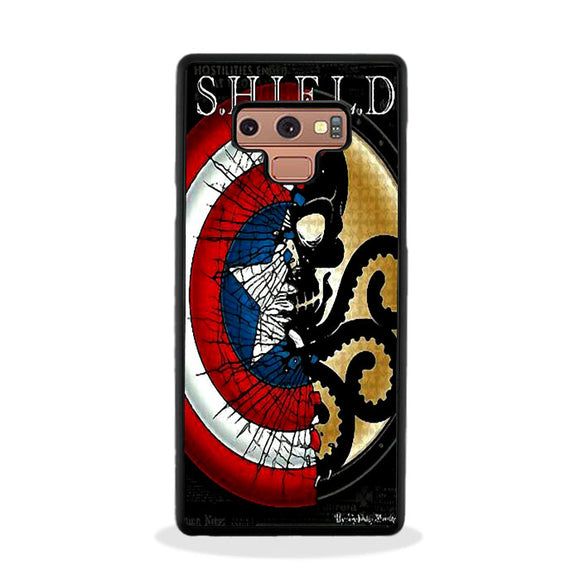 Shield X Hydra Marvel Samsung Galaxy Note 9 Case | Frostedcase