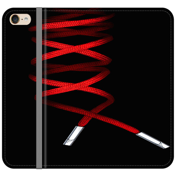 Shoelace Jordan Red iPod 5 Flip Case | Frostedcase