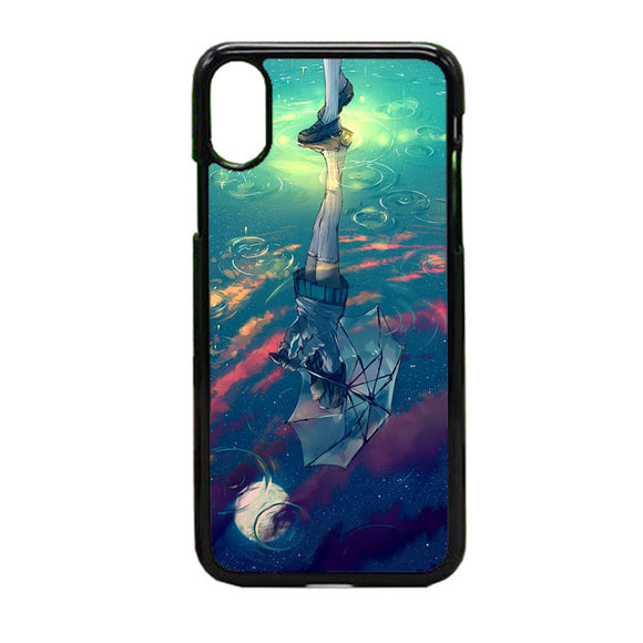 Sky Beneath My Feet iPhone X Case | Frostedcase