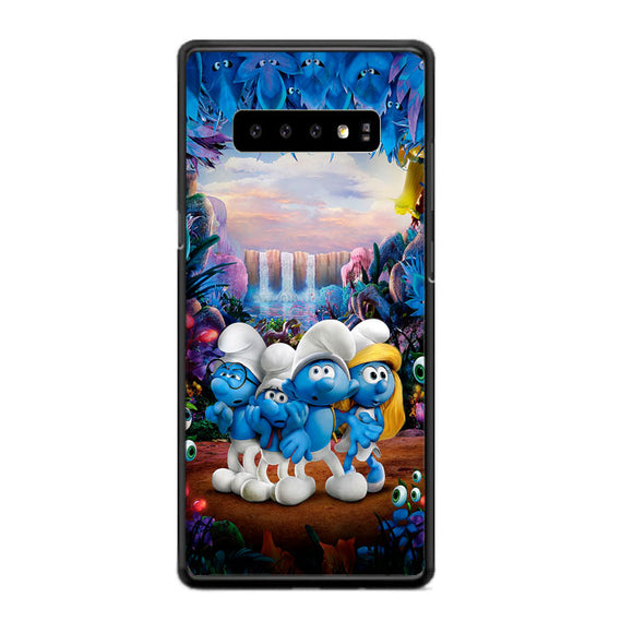 Smurfs And Friends The Lost Village Samsung Galaxy S10 Plus Case | Frostedcase