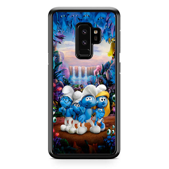 Smurfs And Friends The Lost Village Samsung Galaxy S9 Plus Case | Frostedcase