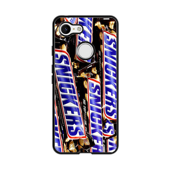 Snickers Snack Google Pixel 3 XL Case | Frostedcase
