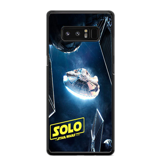 Solo A Star Wars Allan Portilho Samsung Galaxy Note 8 Case | Frostedcase