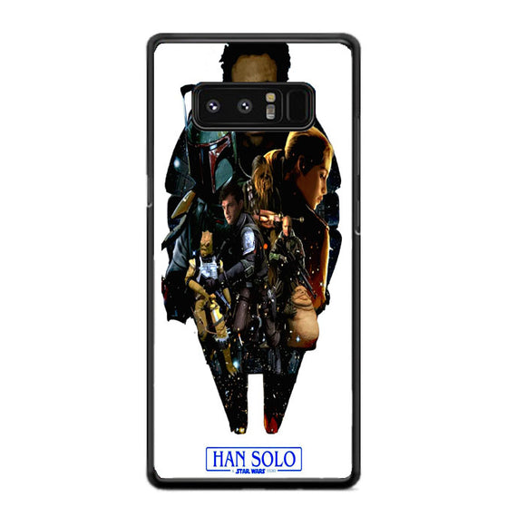 Solo A Star Wars Art Samsung Galaxy Note 8 Case | Frostedcase