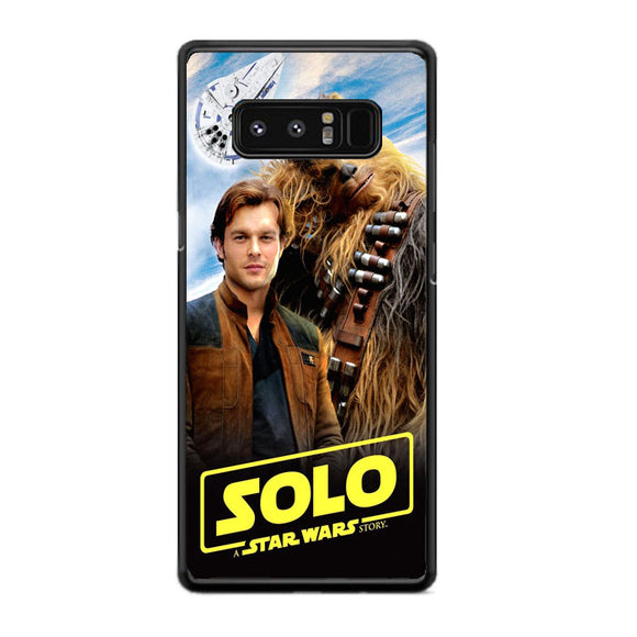 Solo A Star Wars Story Books Samsung Galaxy Note 8 Case | Frostedcase