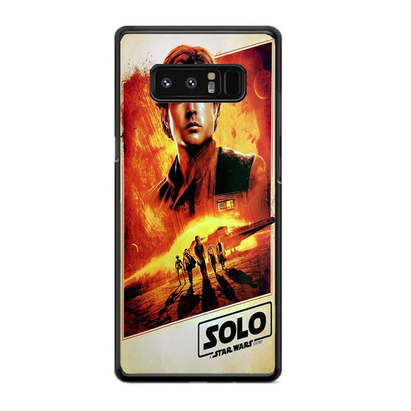 Solo A Star Wars Story Samsung Galaxy Note 8 Case | Frostedcase