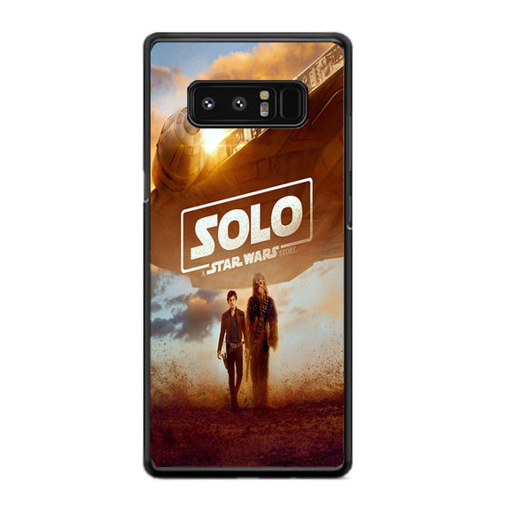 Solo A Star Wars Story Poster New Samsung Galaxy Note 8 Case | Frostedcase