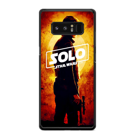 Solo A Star Wars Story Poster Samsung Galaxy Note 8 Case | Frostedcase