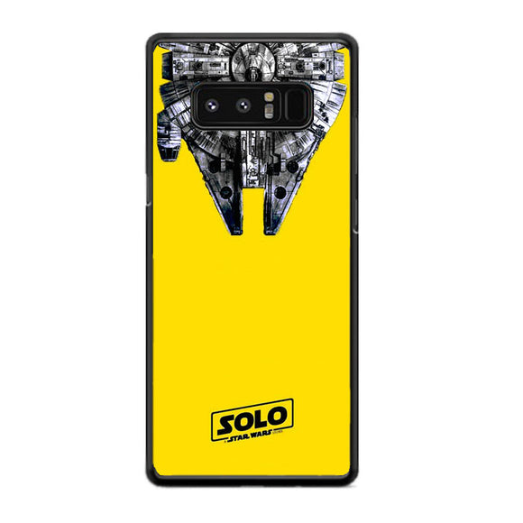 Solo A Star Wars Story Yellow Samsung Galaxy Note 8 Case | Frostedcase