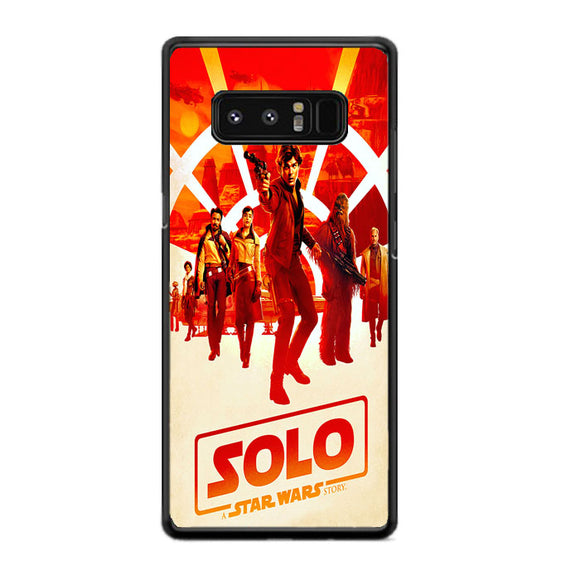 Solo Star Wars Story Samsung Galaxy Note 8 Case | Frostedcase