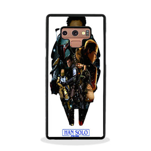 meet a0c3b 68c8d Solo A Star Wars Art Samsung Galaxy Note 9 Case | Frostedcase