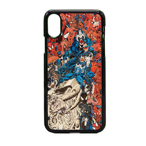 Spiderman iPhone X Case | Frostedcase
