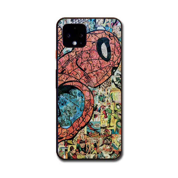 Spiderman Marvel Google Pixel 4 Case | Frostedcase
