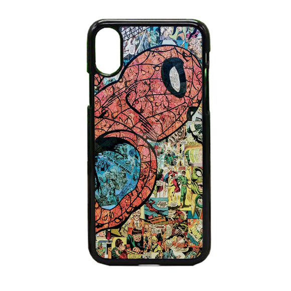 Spiderman Marvel iPhone X Case | Frostedcase