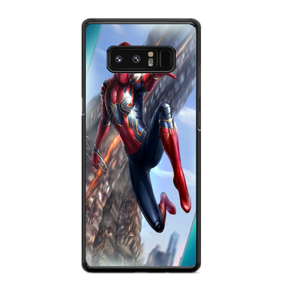 Spiderman The Best Scene Samsung Galaxy Note 8 Case | Frostedcase