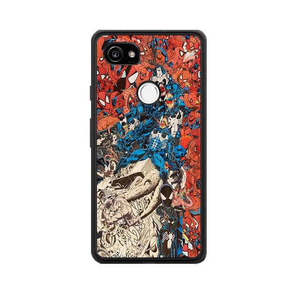 Spiderman Google Pixel 2 XL Case | Frostedcase