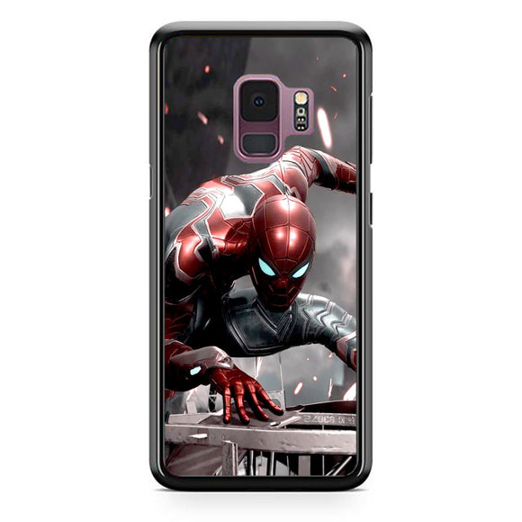 Spiderman All Suits New Samsung Galaxy S9 Case | Frostedcase