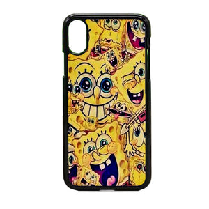 Spongbob Art iPhone X Case | Frostedcase