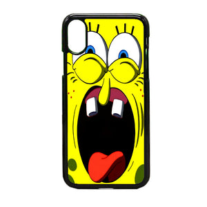 Spongbob Face iPhone X Case | Frostedcase