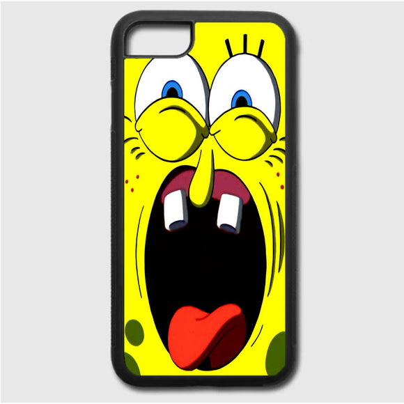 Spongbob Face iPhone 7 Case | Frostedcase