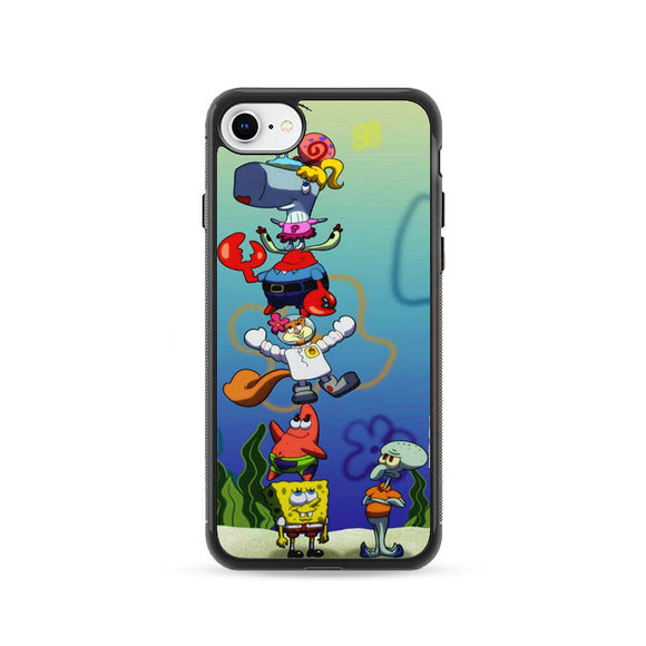 Spongbob Ice Cream iPhone 8 Case | Frostedcase