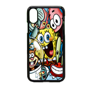 Spongebob Squarepants Art iPhone X Case | Frostedcase
