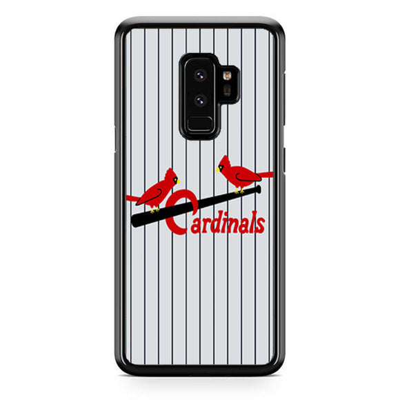 St Louis Cardinals Jersey Emblem Samsung Galaxy S9 Plus Case | Frostedcase