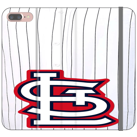 St Louis Cardinals Jersey iPhone 8 Plus Flip Case | Frostedcase