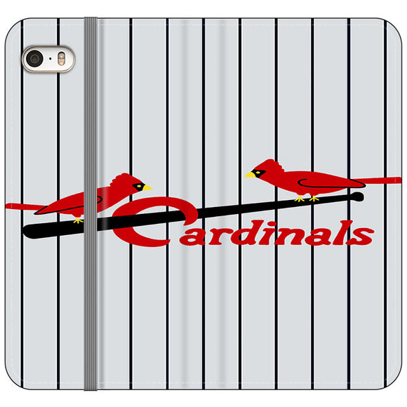 St Louis Cardinals Jersey Emblem iPhone 5|5S|SE Flip Case | Frostedcase