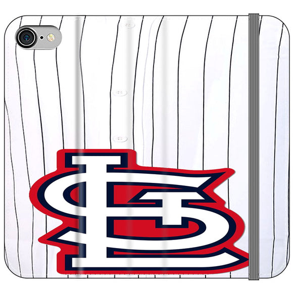 St Louis Cardinals Jersey iPhone 8 Flip Case | Frostedcase