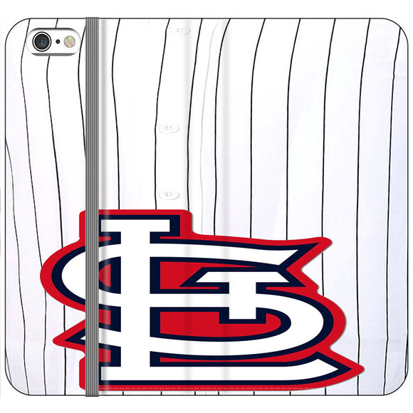 St Louis Cardinals Jersey iPhone 6 Plus|6S Plus Flip Case | Frostedcase