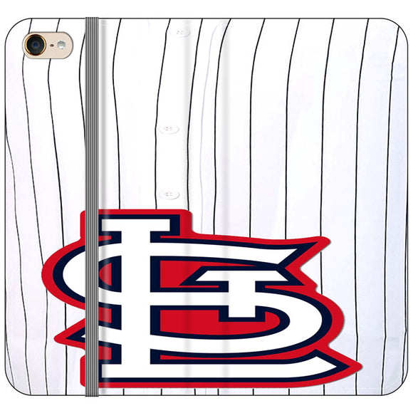 St Louis Cardinals Jersey iPod 6 Flip Case | Frostedcase