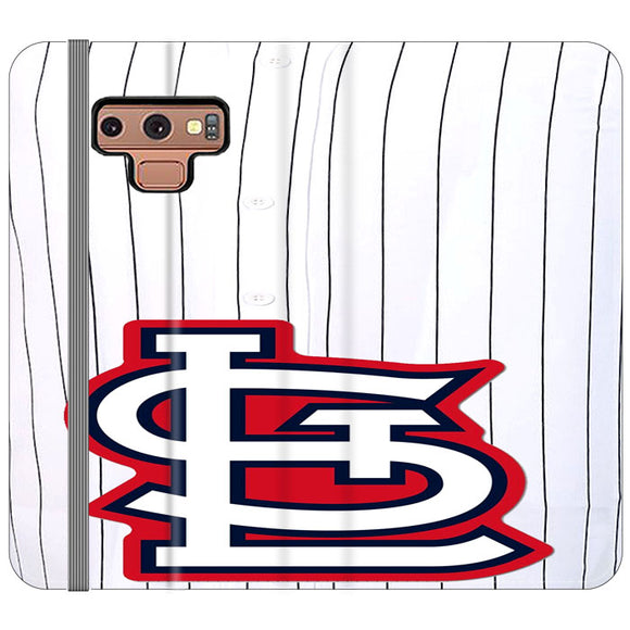 St Louis Cardinals Jersey Samsung Galaxy Note 9 Flip Case | Frostedcase