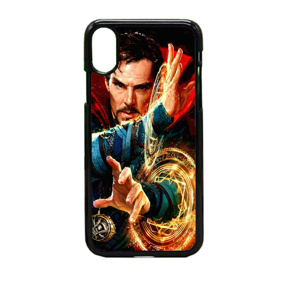 Stan Lee Doctor Strange iPhone X Case | Frostedcase
