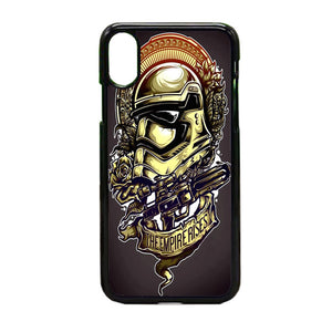 Star Wars Stormtrooper Helmet iPhone X Case | Frostedcase