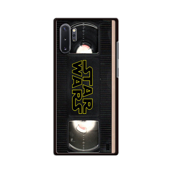 Star Wars Vhs Tape Hard Book Samsung Galaxy Note 10 Case | Frostedcase