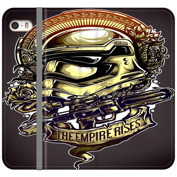 Star Wars Stormtrooper Helmet iPhone 5|5S|SE Flip Case | Frostedcase