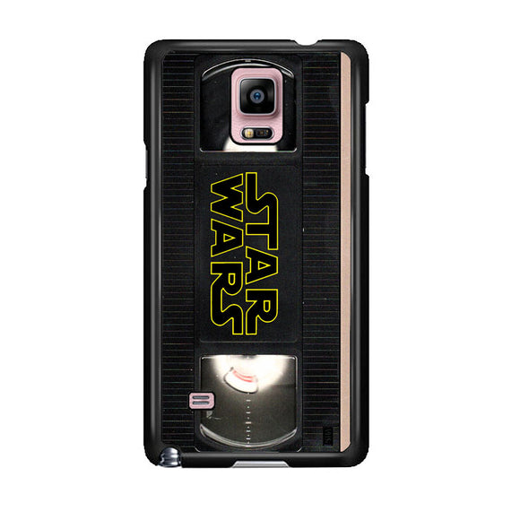 Star Wars Vhs Tape Hard Book Samsung Galaxy Note 4 Case | Frostedcase