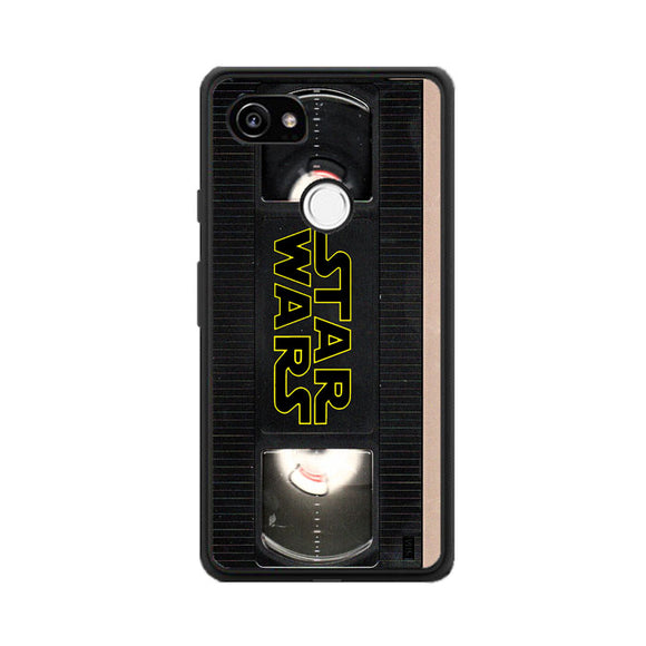 Star Wars Vhs Tape Hard Book Google Pixel 2 XL Case | Frostedcase