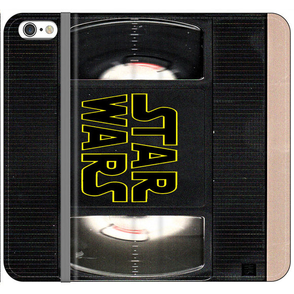Star Wars Vhs Tape Hard Book iPhone 6 Plus|6S Plus Flip Case | Frostedcase